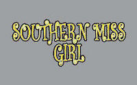 Southern Mississippi Eagles Colorshock Decal
