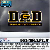 Grambling State Tigers Colorshock Decal