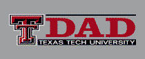Texas Tech Red Raiders Colorshock Decal