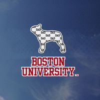 Boston Terriers Colorshock Decal