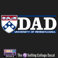 Penn Color Shock Decal