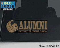 UCF Knights Colorshock Alumni Decal