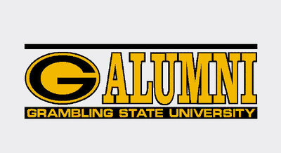 Grambling State Tigers Colorshock Alumni Decal Part 71