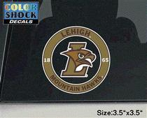 Lehigh Color Shock Mascot Decal