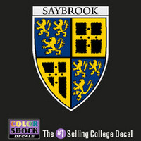 Yale Bulldogs Saybrook Decal ¿¿¿¿¿¿¿¿¿¿¿¿¿¿¿¿