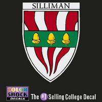 Yale Bulldogs Silliman Decal ¿¿¿¿¿¿¿¿¿¿¿¿¿¿¿¿