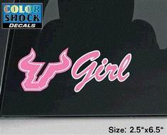 South Florida Bulls CDI Square Decal
