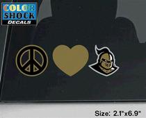 UCF Knights CDI Square Decal