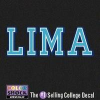 Lima Company Decal