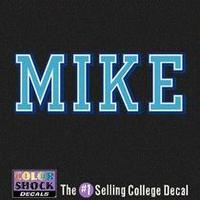 Mike Company Decal