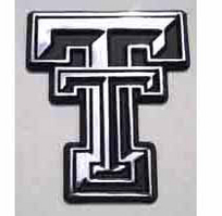 Texas Tech Red Raiders Chrome Plated Car Emblem