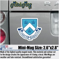 Columbia University Mini Car Magnet