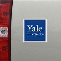 Yale Bulldogs Car Magnet