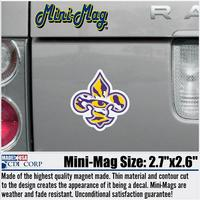 LSU Tigers Mini Car Magnet
