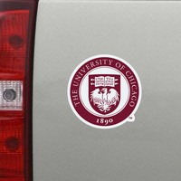 University of Chicago CDI Mini Car Magnet
