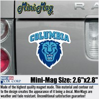Columbia Lions CDI Mini Car Magnet