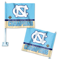 NCAA Mens Basketball National Champions Car Flag