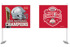 2014 National Champions Car Flag