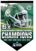 National Championship Vertical Banner