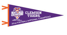 National Champs 12x30 Felt Pennant