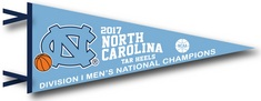 NCAA Mens Basketball National Champions 12x30 Pennant