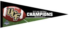 2017 AAC Football Champions Pennant