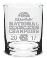 NCAA Mens Basketball National Champions Double Old Fashion