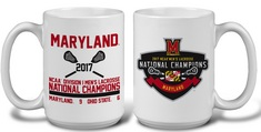 2017 NCAA Mens Lacrosse National Champs 15 oz Mug