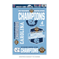 NCAA Mens Basketball National Champions 11x17 Multiuse Decal