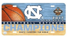NCAA Mens Basketball National Champions License Plate