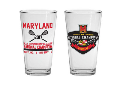2017 NCAA Mens Lacrosse National Champs 16 oz Mixer