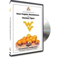 West Virginia Orange Bowl DVD