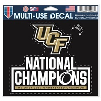 National Champions Decal
