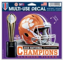 National Champs Multi Use Decal