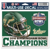 2016 Birmingham Bowl Champs Decal