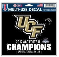 2017 AAC Football Champions Decal