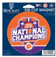 National Champs 4.75x5.75 Die Cut Car Magnet