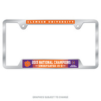 National Champs License Plate Frame