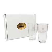 Set of 2 Pint Glasses  (online only)