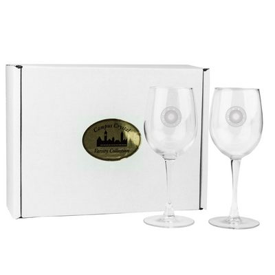 12 oz Crystal White Wine Glass   (online only)