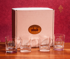Boxed Set of Double Old Fashion Glasses