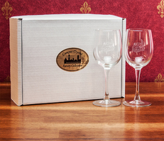 Set of 2 12oz Wine Glasses