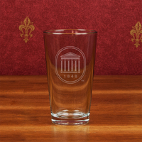 Crystal Pint Glass