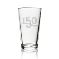 Lehigh University 150th Anniversary Glass