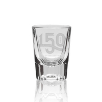 Lehigh University 150th Anniversary Shot Glass