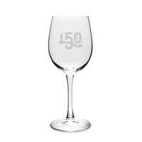 Lehigh University 150th Anniversary Wine Glass