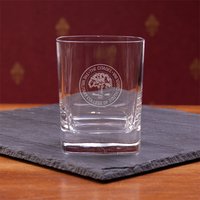 Crystal Double Old Fashion Glass