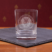 Square Double Old Fashion Glass