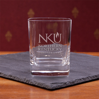 Crystal Square Double Old Fashion Glass