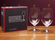 Web Riedel Footed Beer Glass 2 pk (Online Only)